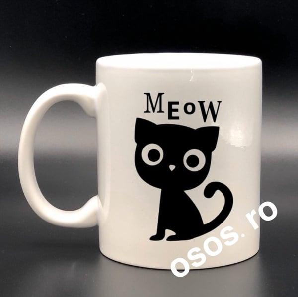 Cana personalizata - Meow [0]