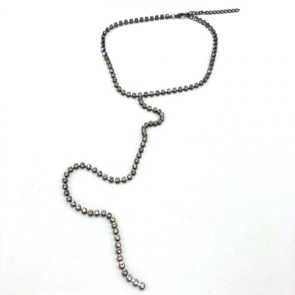 Colier dama cu pietricele lung [0]
