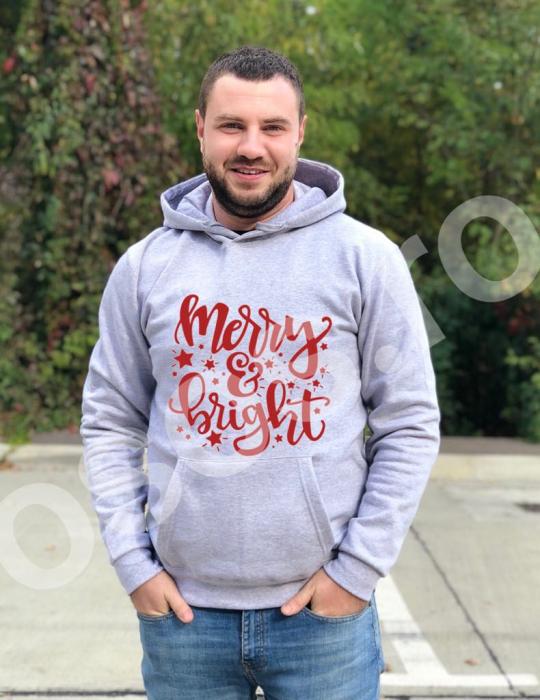 Hanorac bărbaţi - Merry & bright 0