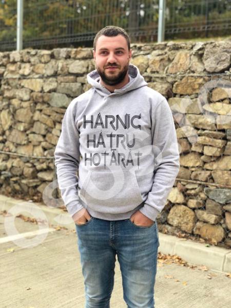 Hanorac bărbaţi - Harnic hâtru hotărât