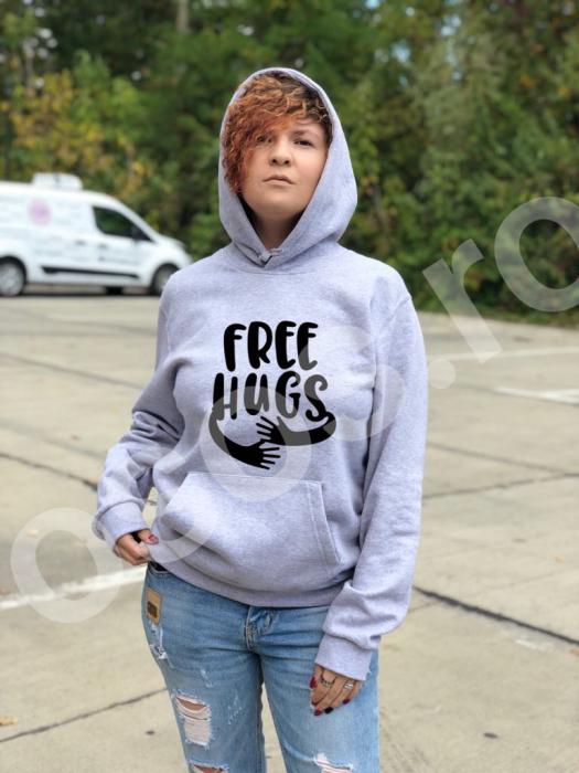Hanorac damă - Free hugs 0