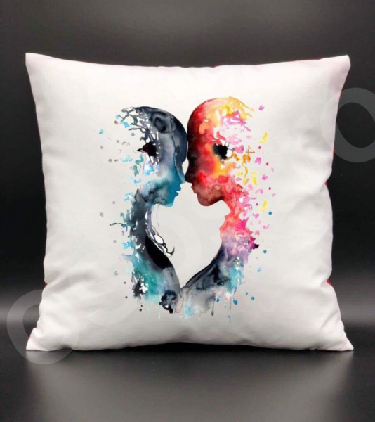 Pernă - Colourful kiss 0