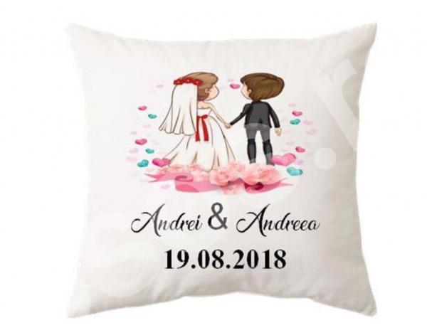 Pernă - Andrei & Andreea 0