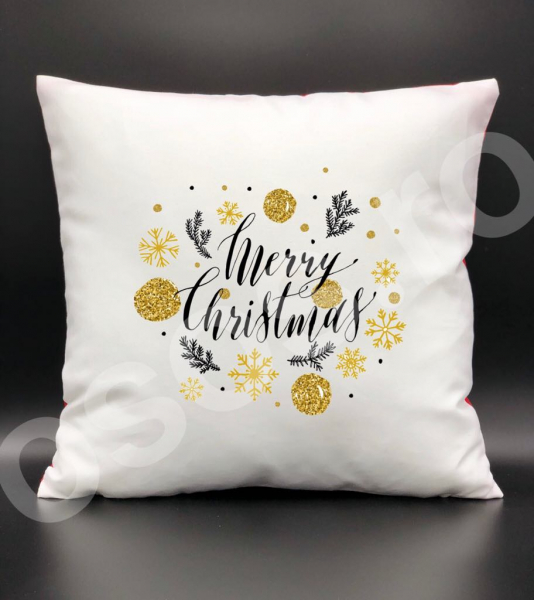 Pernă - Merry Christmas. 0