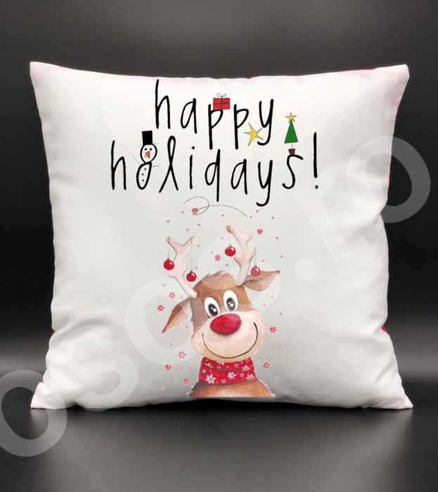 Pernă - Happy holidays 0