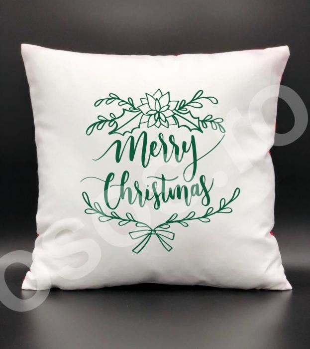 Pernă - Merry Christmas 0