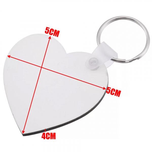 Personalizeaza Breloc Inima 1