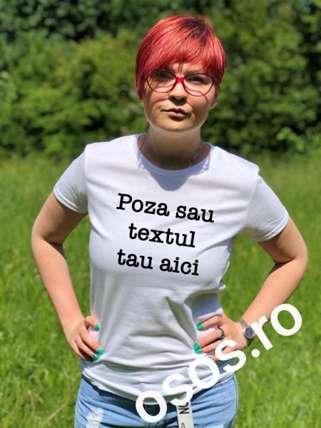 Personalizează tu tricou damă 0