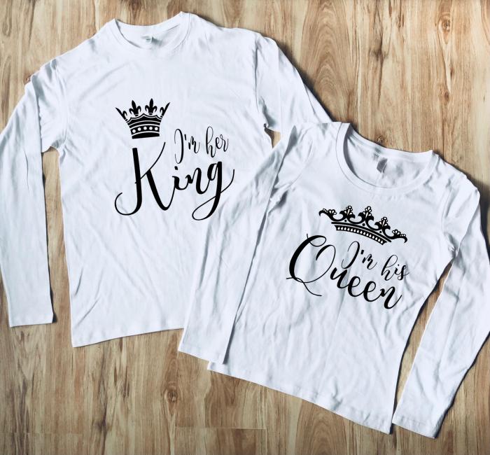 Set Bluze Cuplu - King si Queen [0]