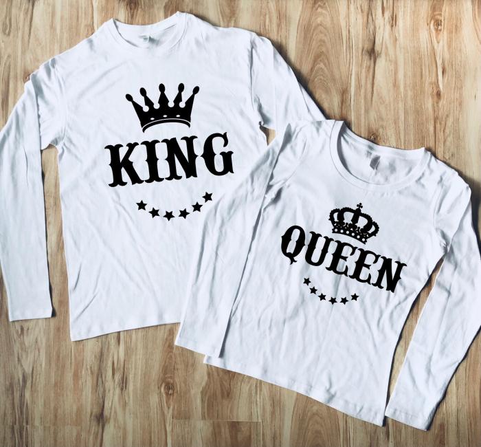 Set Bluze Cuplu - King & Queen [0]