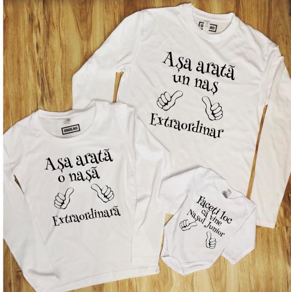 Set Bluze Familie - Asa Arata Nasii 0
