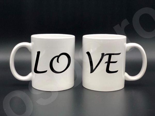 Set căni personalizate - LOVE 0