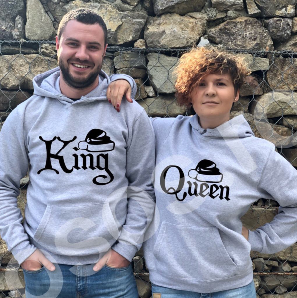 Set hanorace - King & queen 0