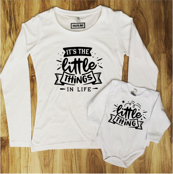 Set mama fiica/ Set mama fiu - Little thing 0