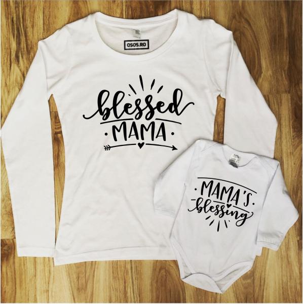 Set mama fiica/ Set mama fiu - Blessed mama [0]