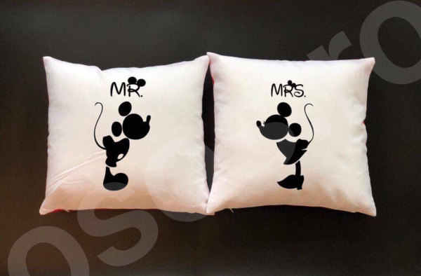 Set perne - Mr. & Mrs. 0