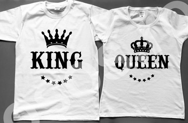 Set tricouri - King Queen 0