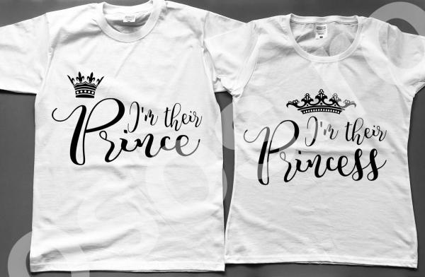 Set tricouri - Prince & Princess 0