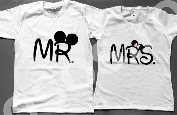 Set tricouri - Mr & Mrs 0