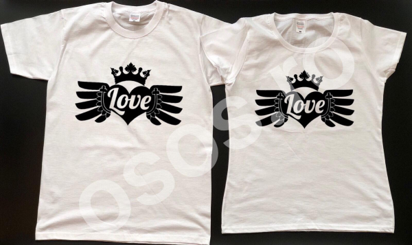 Set tricouri personalizate - Love, Love 0