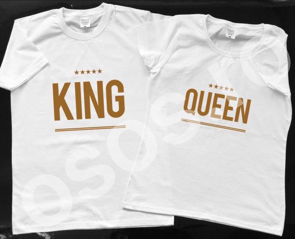 Set tricouri personalizate - King + Queen 0