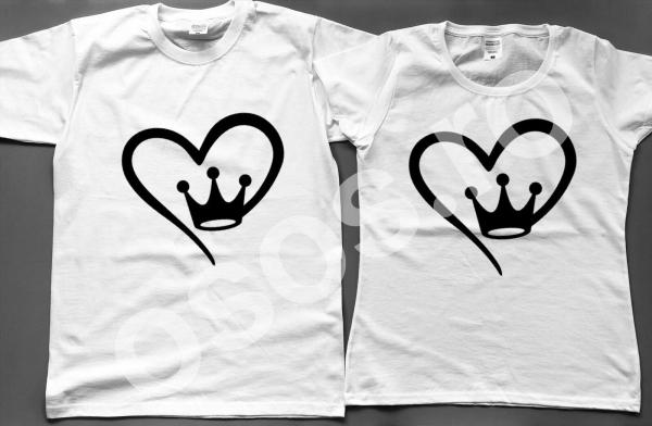 Set tricouri personalizate cupluri - Love 0