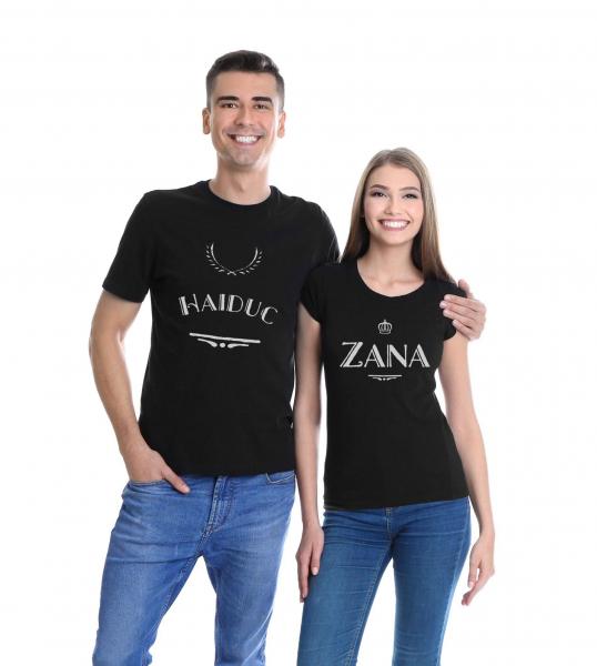 Set tricouri personalizate - Zână şi Haiduc 0