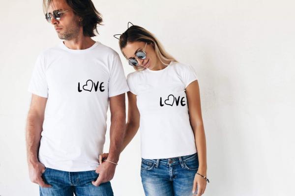 Tricouri cuplu - Love 0