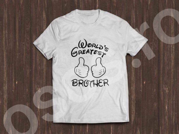 Tricou bărbătesc - World's greatest brother