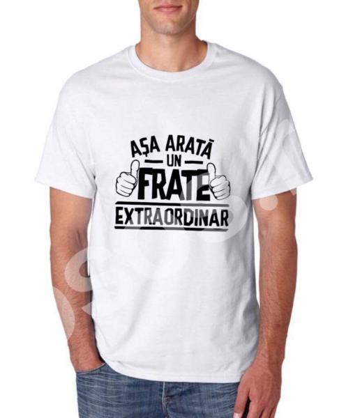 Tricou bărbătesc - Aşa arată un frate extraordinar 0