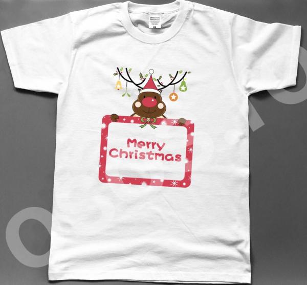 Tricou bărbătest - Merry Christmas.