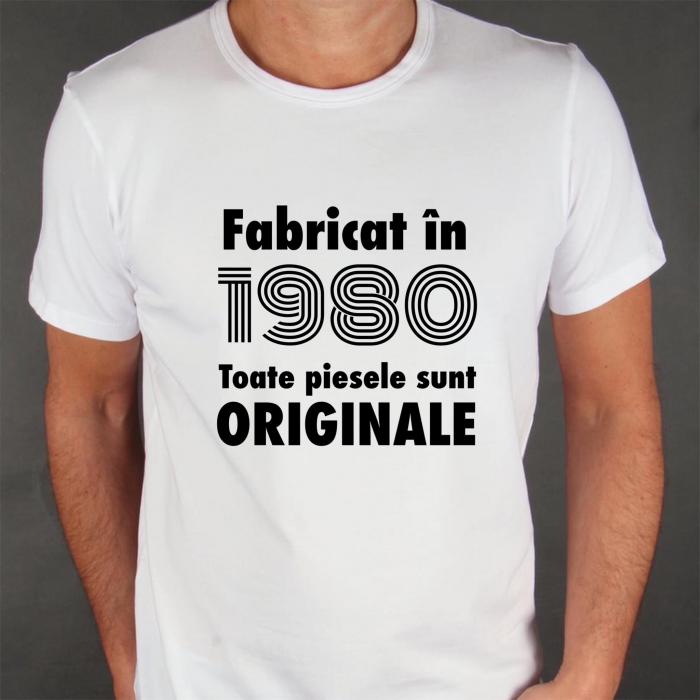 Tricou bărbătesc - Fabricat in ... toate piesele sunt originale [0]