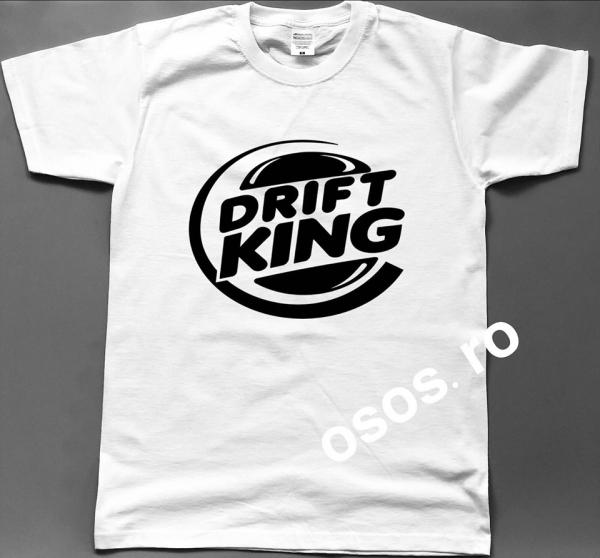 Tricou barbatesc - Drift king 0