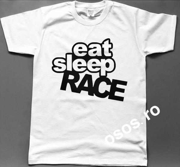 Tricou barbatesc - Eat Sleep Peugeot Race [0]