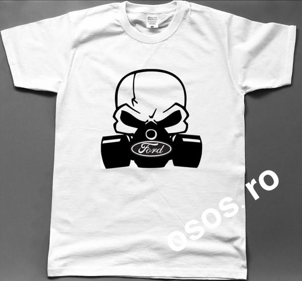 Tricou barbatesc - Gas mask Ford [0]