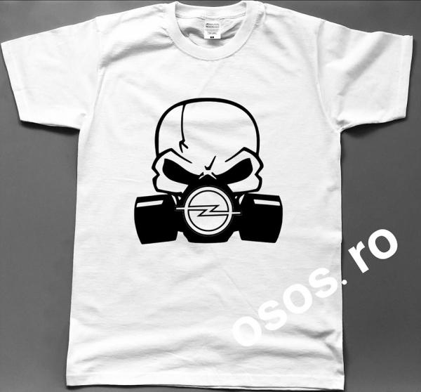 Tricou barbatesc - Gas mask Opel 0