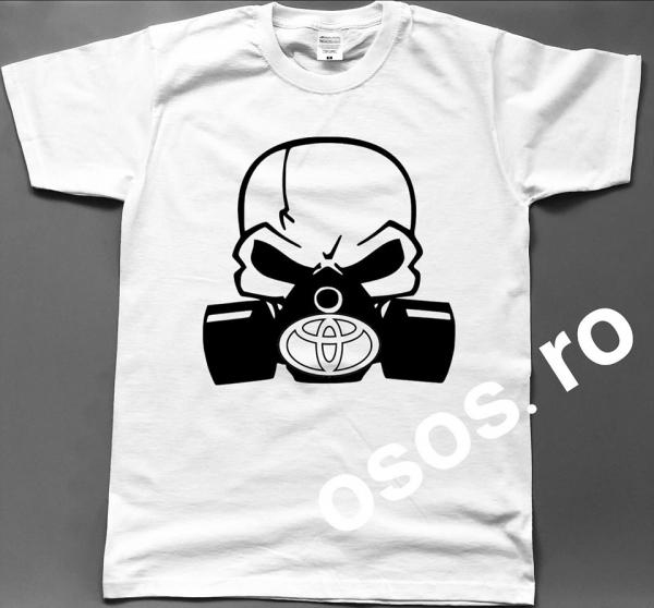 Tricou barbatesc - Gas mask Toyota 0
