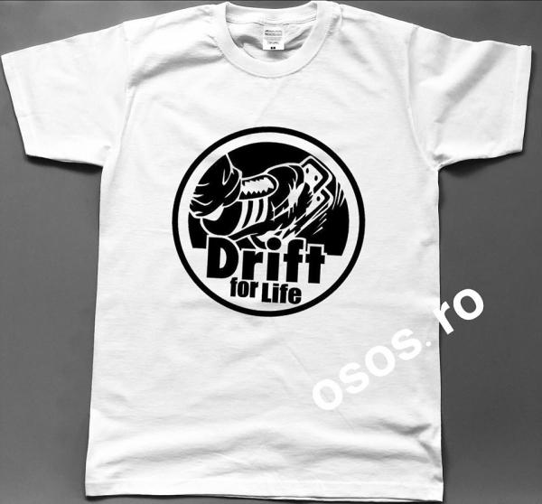 Tricou barbatesc - Drift for life 0