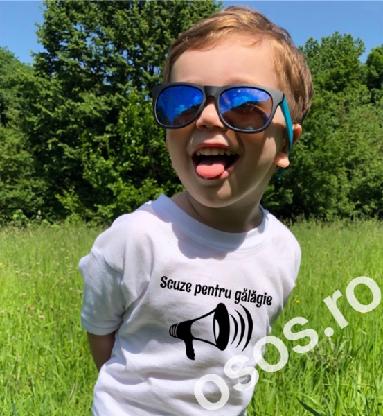 Tricou copii - Scuze pentru gălăgie [0]