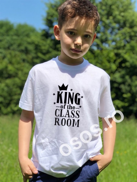 Tricou copii - King of the classroom 0