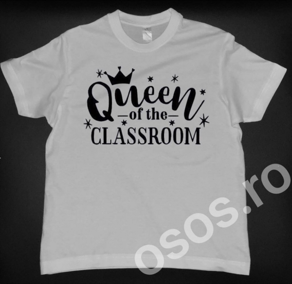 Tricou copii - Queen of the classroom 0