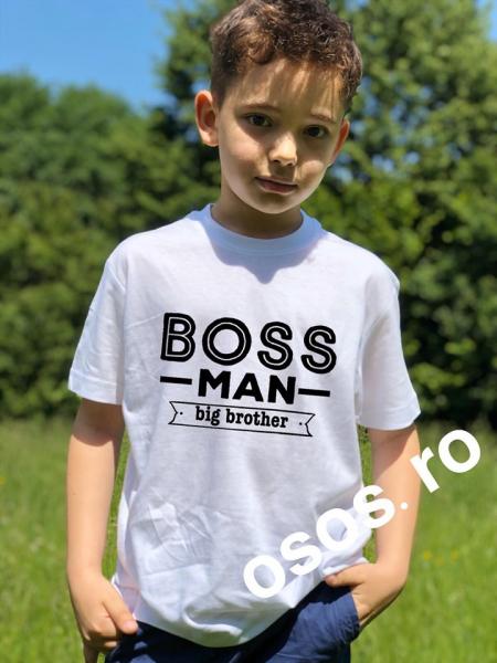 Tricou copii - Boss man. Big brother 0