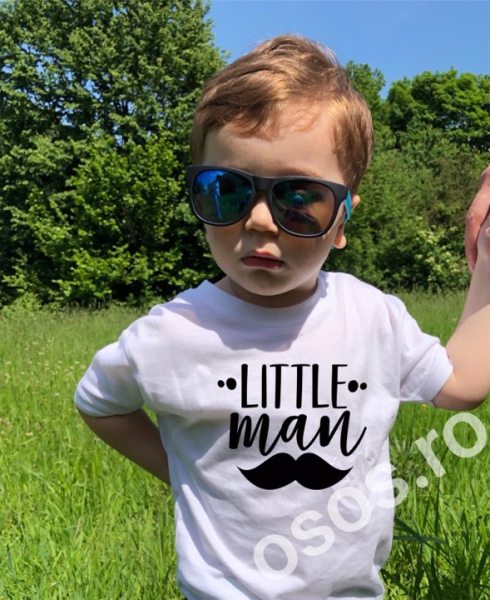Tricou copii - Little man 0