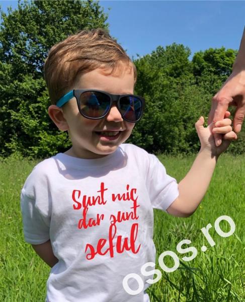 Tricou copii - Sunt mic dar sunt şeful [0]