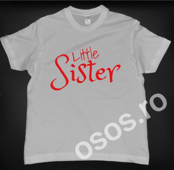 Tricou copii - Little sister 0