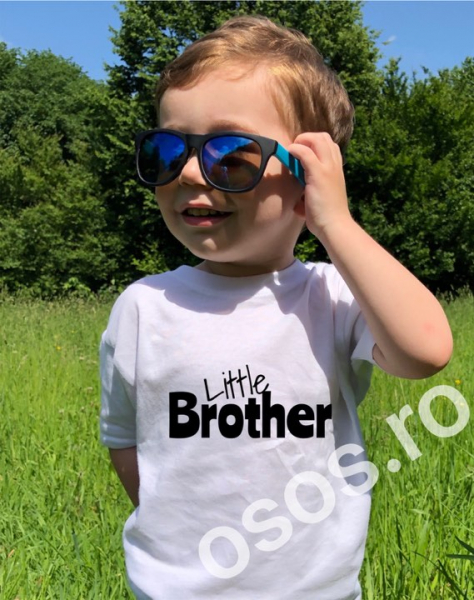 Tricou copii - Little brother 0