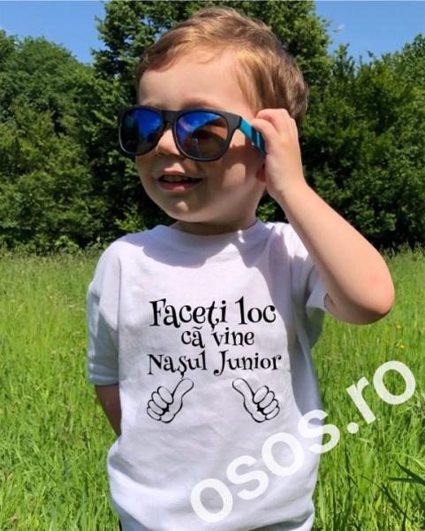 Tricou copii - Faceţi loc că vine naşul junior [0]
