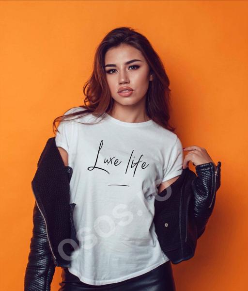 Tricou damă personalizat - Luxe life 0