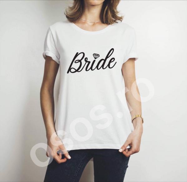 Tricou damă personalizat - Bride [0]