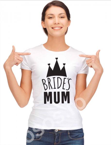 Tricou damă personalizat - Bride's mum 0
